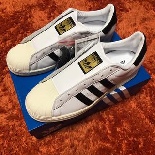 adidas - ADIDAS ORIGINALS SUPERSTAR LACELESS 27.5