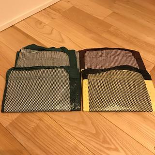 イケア(IKEA)のIKEA×HAY*ショッピングバッグ*4枚セット*エコバッグ(ショップ袋)