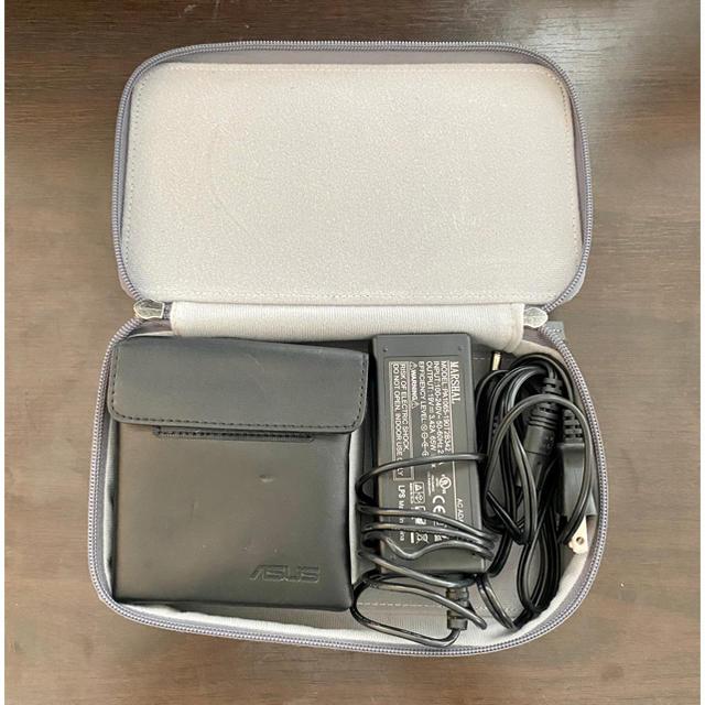 ASUS(エイスース)のASUS S1 モバイルプロジェクター(使用数回) スマホ/家電/カメラのテレビ/映像機器(プロジェクター)の商品写真