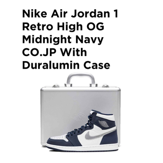NIKE - Air Jordan 1 Retro High OG Midnight Navy