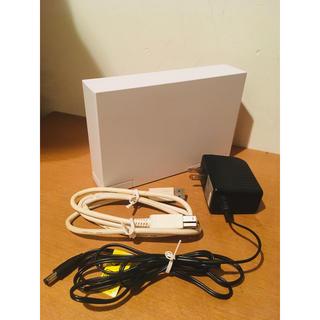 アイオーデータ(IODATA)の外付けHDD 大容量 3TB IODATA HDCL-UTE3W(PC周辺機器)
