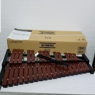 ヤマハ(ヤマハ)のYAMAHA 木琴 TX-6  (マレット、説明書紙、専用段ボール箱付き)(木琴)