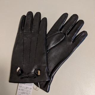 コーチ(COACH)のコーチの本革レザーレディース手袋(手袋)