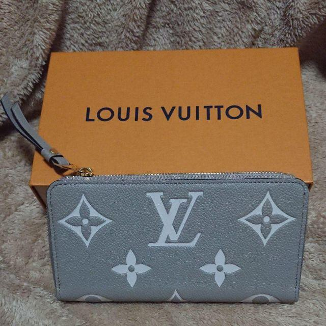 LOUIS VUITTON(ルイヴィトン)のルイヴィトンM69794モノグラムアンプラントジッピー・ウォレット メンズのファッション小物(長財布)の商品写真