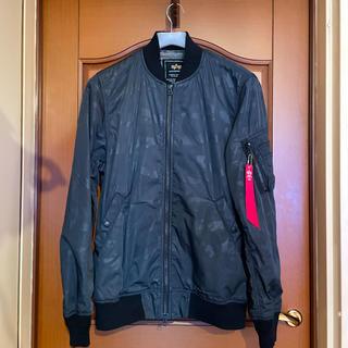 ALPHA アルファ MA-1 ブルゾン ジャケット(薄手)