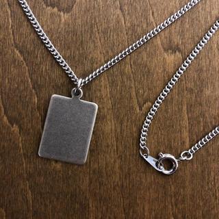 BRASS プレートネックレス 真鍮製 日本製