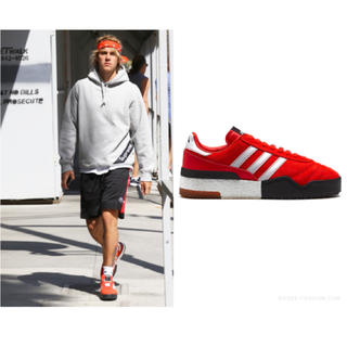 adidas - ジャスティンビーバー着用 AW Bball Soccer 28cm