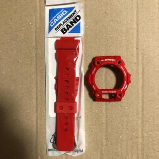 ジーショック(G-SHOCK)のg-7900a-4 ベルベゼ 赤 バンド(ラバーベルト)