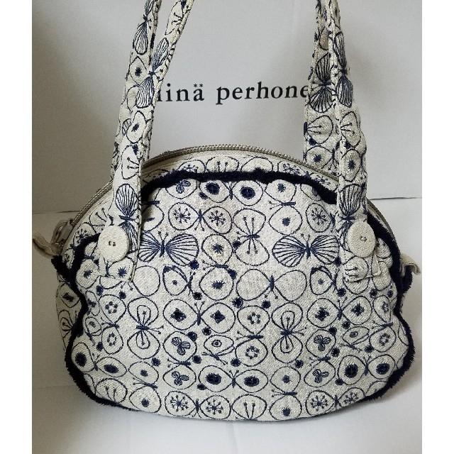 mina perhonen(ミナペルホネン)のmina perhonen クラウドバッグ  party💓美品 レディースのバッグ(ボストンバッグ)の商品写真