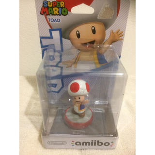 ニンテンドウ(任天堂)のスーパーマリオ アミーボ toad 任天堂(ゲームキャラクター)