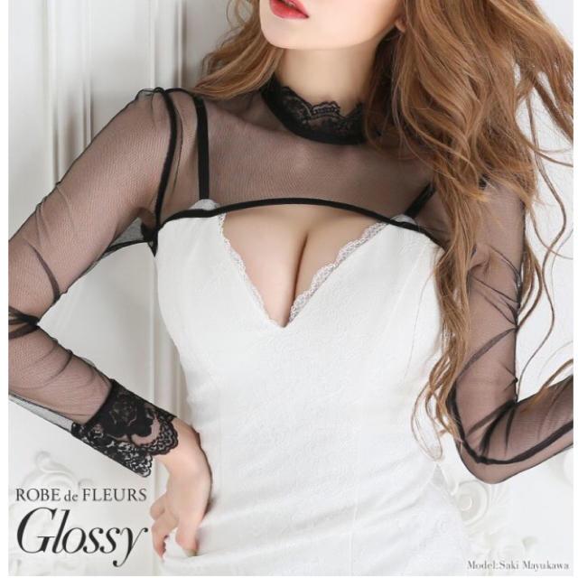 ROBE(ローブ)のローブドフルール ミニドレスS レディースのフォーマル/ドレス(ミニドレス)の商品写真