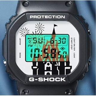 ジーショック(G-SHOCK)の東京ディズニー 35周年 腕時計 G-SHOCK 未使用 超レア 男女兼用(キャラクターグッズ)
