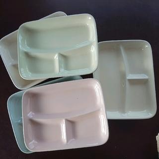 ベルメゾン(ベルメゾン)のベルメゾンで購入 ★ 仕切り付きランチプレート5枚(食器)