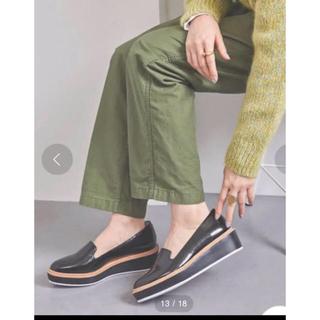 ユナイテッドアローズ(UNITED ARROWS)の新品【UNITED ARROWS】プラットフォームシューズ(ローファー/革靴)