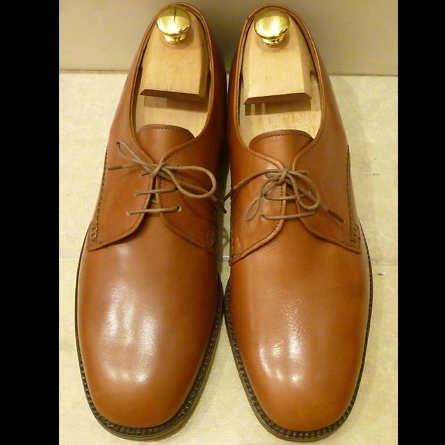 Trickers(トリッカーズ)の新品未使用 Tricker's トリッカーズ プレーントゥ 7.5 激レア メンズの靴/シューズ(ドレス/ビジネス)の商品写真