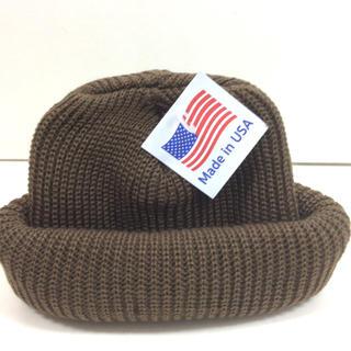 ロスコ(ROTHCO)のロスコ ニット帽 コヨーテ ROTHCO knitcap USA(ニット帽/ビーニー)