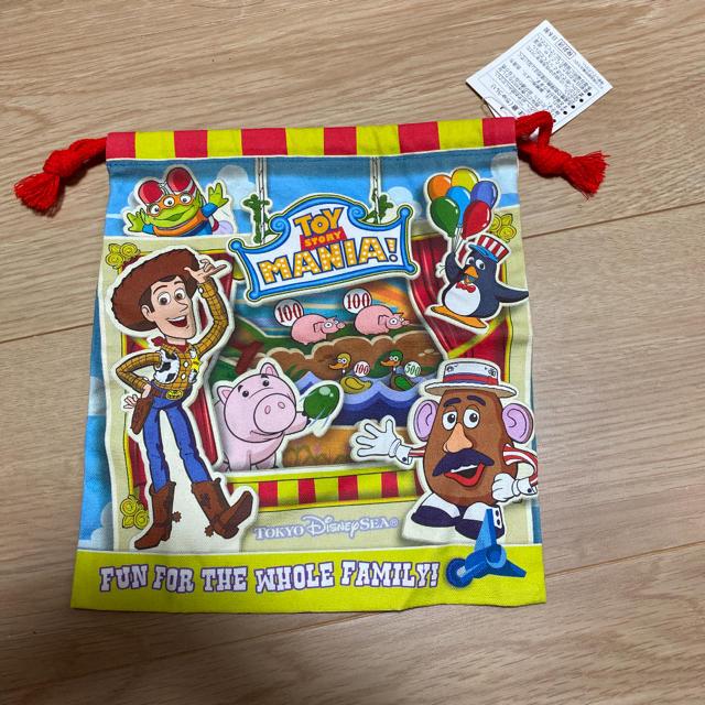 トイ・ストーリー(トイストーリー)のトイストーリーマニア 巾着 ディズニー エンタメ/ホビーのおもちゃ/ぬいぐるみ(キャラクターグッズ)の商品写真