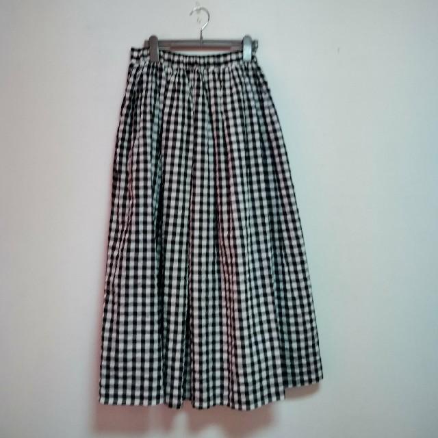 LEPSIM(レプシィム)のレプシィム チエックロングスカート レディースのスカート(ロングスカート)の商品写真