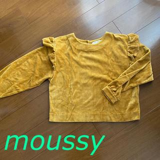 マウジー(moussy)のMOUSSY トップス(トレーナー/スウェット)