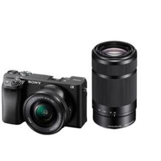 SONY - ミラーレス一眼カメラ α6400 ダブルズームレンズキット ILCE-6400Y