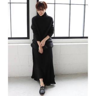 Plage - 【10月31日まで出品】plage crepe ギャザーロングスカート