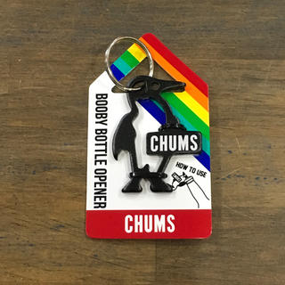 チャムス(CHUMS)の【新品】CHUMS 栓抜きにもなるキーホルダー(キーホルダー)