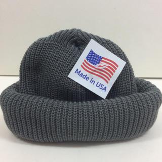ロスコ(ROTHCO)のロスコ ニット帽 グレー ROTHCO knitcap(ニット帽/ビーニー)