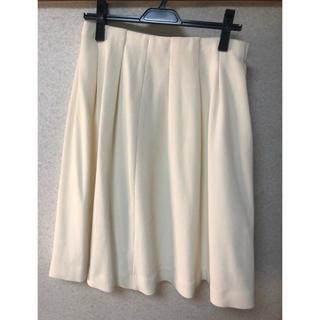 ミミアンドロジャー(mimi&roger)のミミアンドロジャースカート白(ひざ丈スカート)