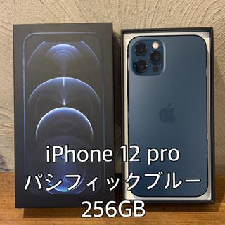 Apple - iPhone 12 pro (6.1インチ)  パシフィックブルー  256GB