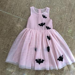 エイチアンドエム(H&M)のハロウィン子供衣装 こうもりワンピースパーティードレス コスプレ(衣装)