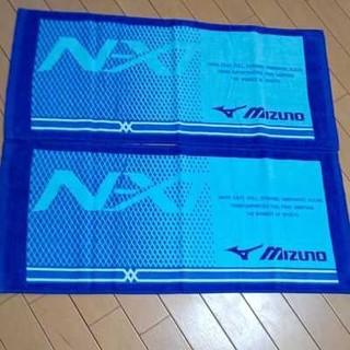 ミズノ(MIZUNO)の新品 MIZUNOミズノフェイスタオル2枚セット(その他)