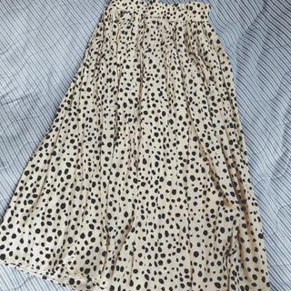 GRL - ダルメシアン柄ロングスカート