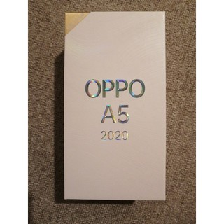 ANDROID - 新品未使用品 OPPO A5 2020 SIMフリー