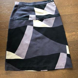 Aライン スカート (ひざ丈スカート)