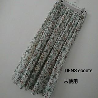 ティアンエクート(TIENS ecoute)のボタニカルギャザースカート(ロングスカート)