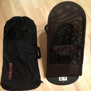 BABYBJORN - 《美品》ベビービョルン  バウンサー バランスソフト メッシュ 専用バッグ付き
