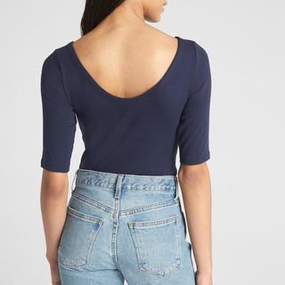 ギャップ(GAP)の未使用 モダンバレエバックTシャツ カットソー(Tシャツ(長袖/七分))