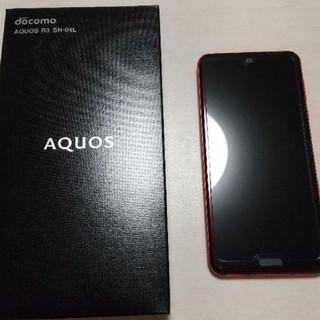 アクオス(AQUOS)のAQUOS R3 Luxury Red SHー04L 本体(スマートフォン本体)