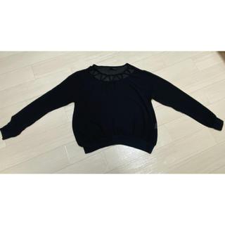 ヘザー(heather)のシアートップス  カットソー(Tシャツ/カットソー(七分/長袖))