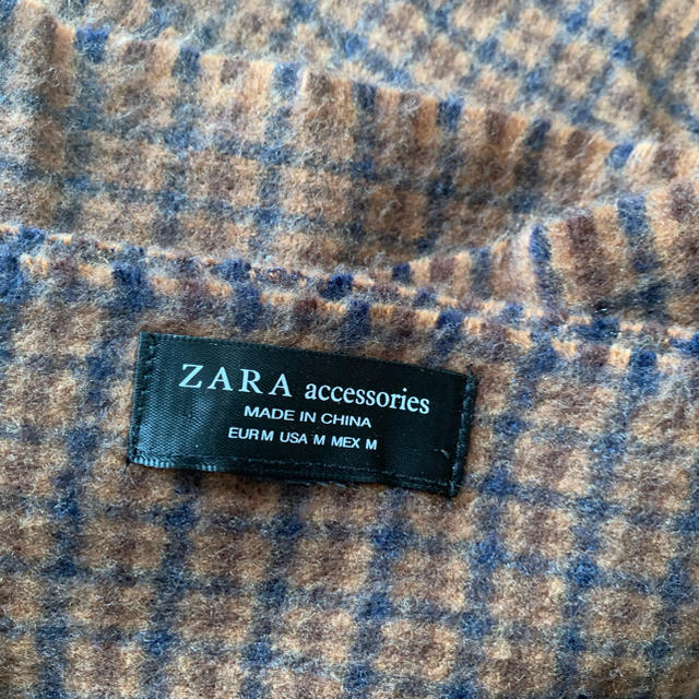 ZARA(ザラ)のZARA 大判ストール レディースのファッション小物(ストール/パシュミナ)の商品写真