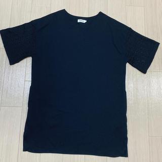 LEPSIM - LEPSIMTシャツ 袖レース