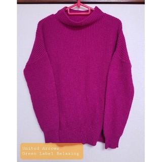 UNITED ARROWS - UNITED ARROWS グリーンレーベル セーター