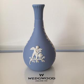 ウェッジウッド(WEDGWOOD)の新品 未使用 ウェッジウッド ジャスパー 花瓶  フラワーベース 花器 一輪挿し(花瓶)