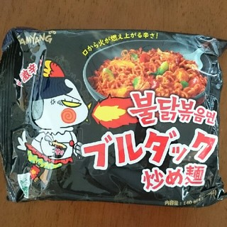 ブルダック麺(インスタント食品)