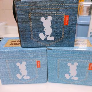 Disney - ミッキー★デニム柄スプーン付マグカップ