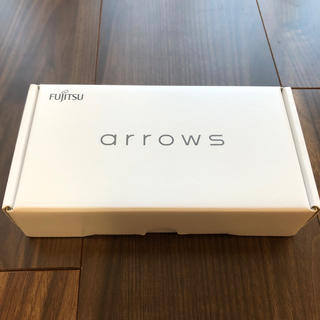 フジツウ(富士通)の【新品】Arrows RX ホワイト【SIMフリー】(スマートフォン本体)