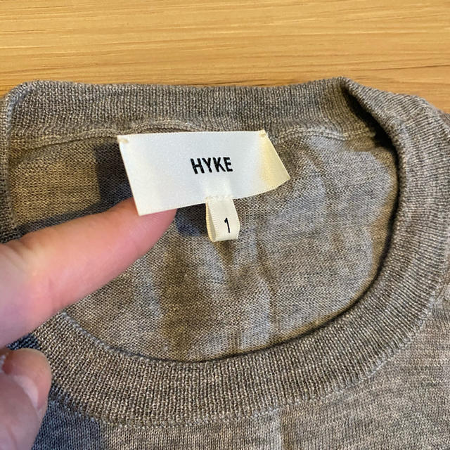HYKE(ハイク)のHYKE ニットカットソー レディースのトップス(ニット/セーター)の商品写真