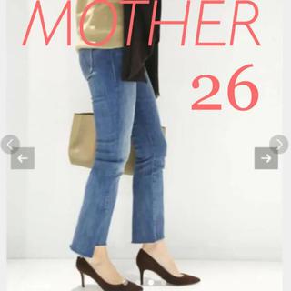 DEUXIEME CLASSE - マザー mother INSIDER CROP 26 デニム デニムパンツ