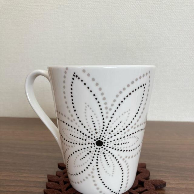 Francfranc(フランフラン)のフランフラン♡マグカップ&コースター♡ お値下げしました。 キッズ/ベビー/マタニティの授乳/お食事用品(マグカップ)の商品写真