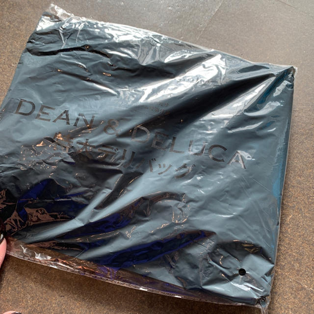 DEAN & DELUCA(ディーンアンドデルーカ)のDEAN&DELUCA 特大デリバッグ トートバッグ 未開封 グレー レディースのバッグ(トートバッグ)の商品写真